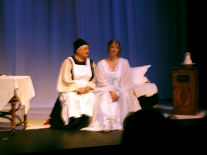 Pat Nixon and Kym Sheargold. Eugene Onegin 2005